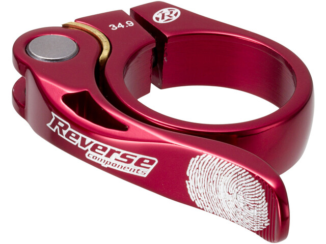 Reverse Long Life Sadelklemme 34,9mm, red